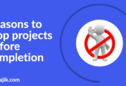Reason to stop project