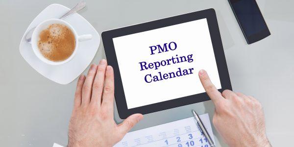 Building PMO reporting calendar