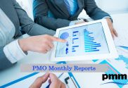 Reviewing PMO monthly report