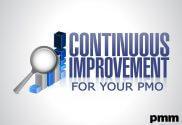 PMO continuous improvement sign