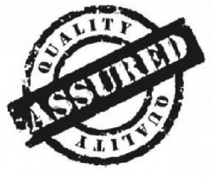 quality assured badge