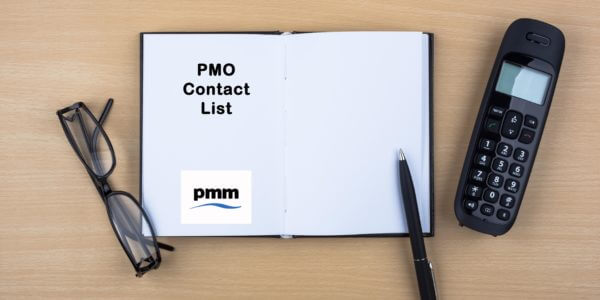 PMO contact list