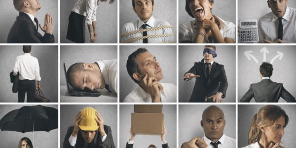 Pictures of challenging change professionals
