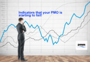 PMO manager inspecting indicators