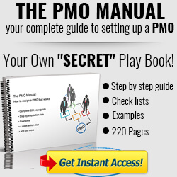 Ultimate play book for setting up a PMO