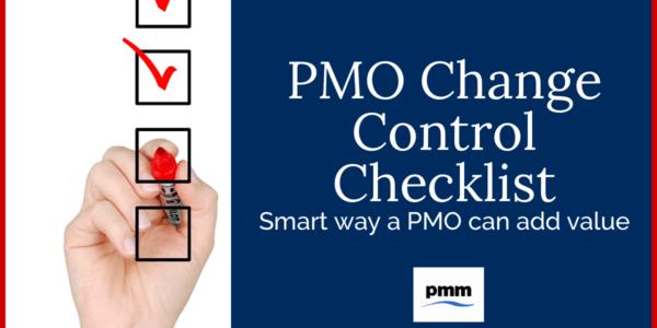 PMO change request checklist image
