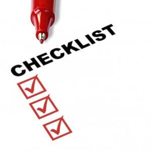 PMO Change Request Checklist