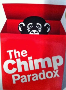 The chimp paradox book cover