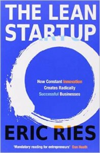 The Lean Start Up by Eric Ries cover
