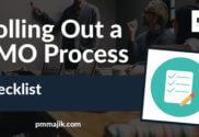 Checklist for PMO Process
