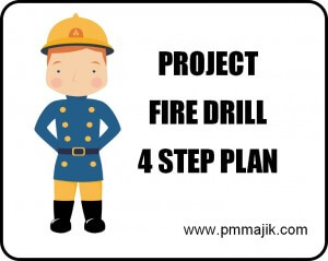 The project fire drill 4 step action plan