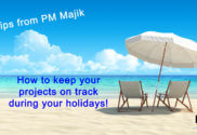 Project planning for your holiday