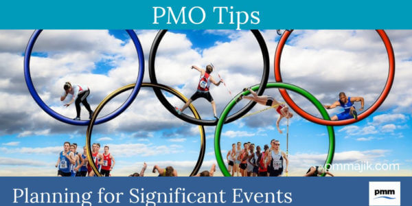 Project planning for significant events