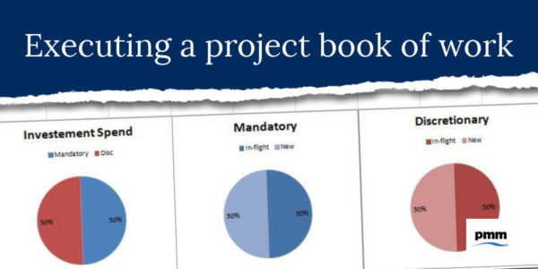 Executing a project book of work