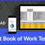 Project Book of Work Template Download