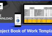 Project Book of Work Template