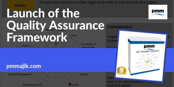 Launch of the Project Quality Assurance Framework