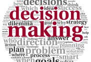 Making a project decision