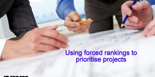 Project team prioritising using forced rankings