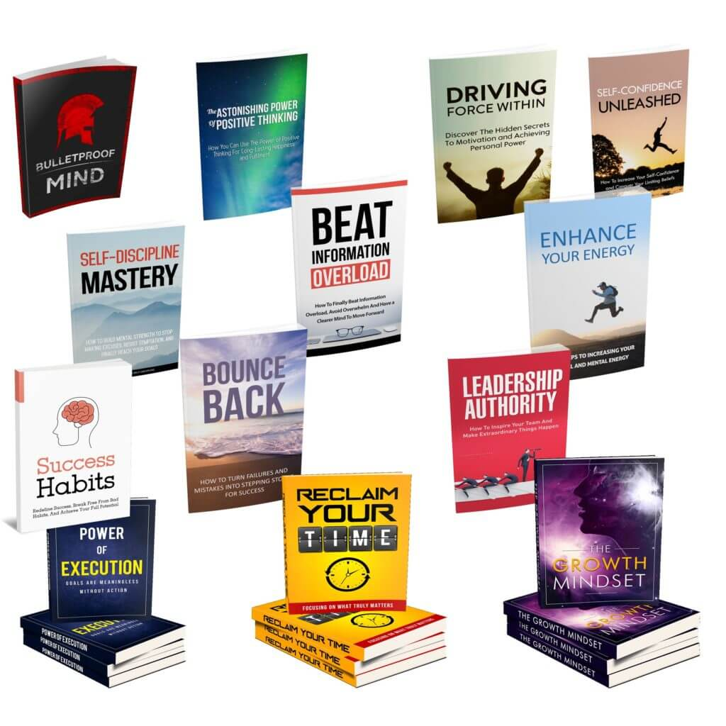 Selection of management and self development e-books