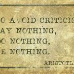 How to deal with criticism as a change professional
