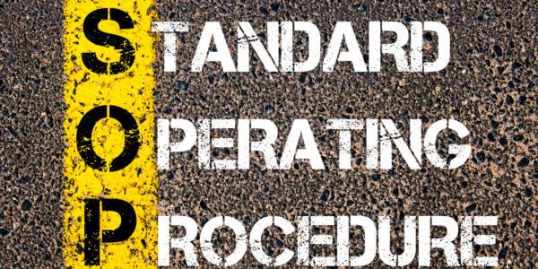 Project Standard Operating Procedures