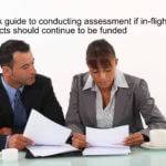 Quick guide to conducting assessment if in-flight projects should continue to be funded