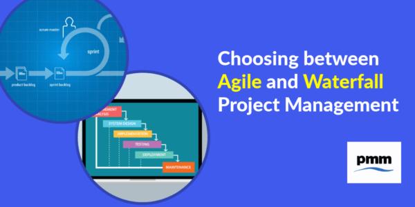 Choosing between agile and waterfall project methodology