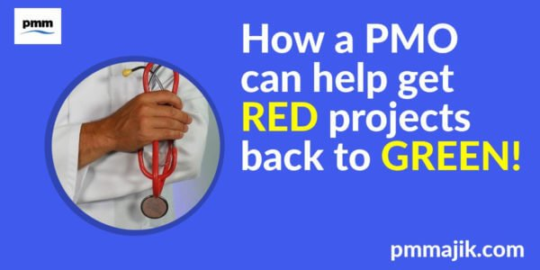 How a PMO can help get red projects back to green