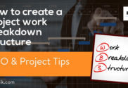 How to create a project WBS