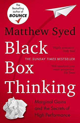 Black Box Thinking book cover