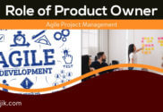 The role of the product owner in agile project management