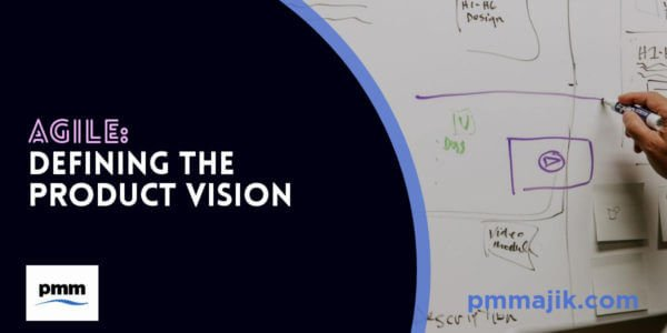 Defining product vision on wipeboard