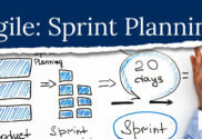 Diangram showing steps in agile sprint planning