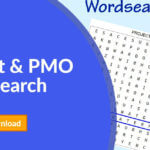 Project Management and PMO Wordsearch
