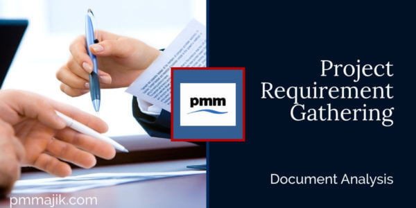 Project requirement gathering: Document Analysis