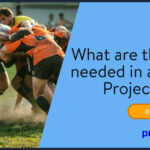 What are the roles needed in a Scrum Project Team?