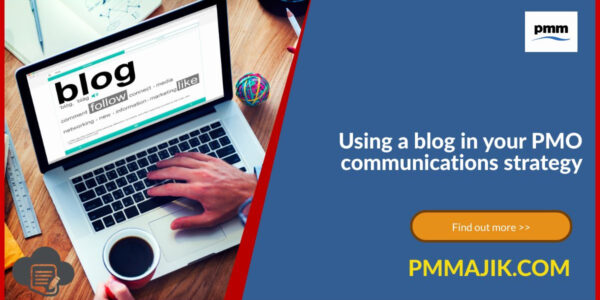 Using a blog for PMO communication