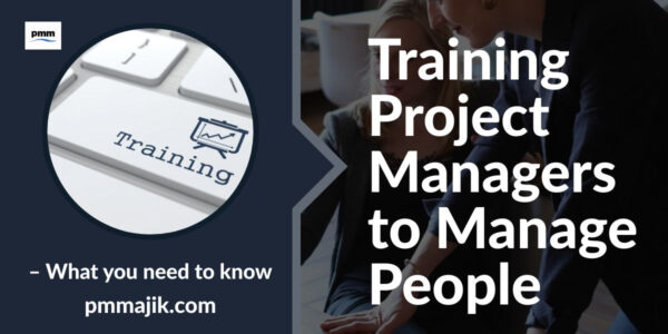 Training project managers on how to manage resources