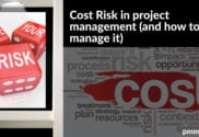 Cost risk in project management