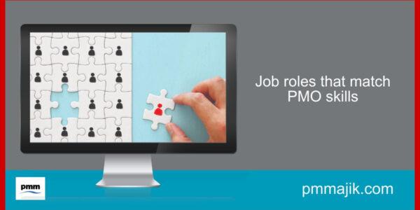 Job roles that match PMO skills