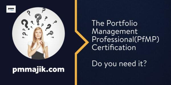 Portfolio Management Professional Certification