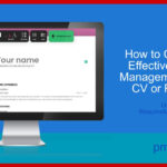 How to Create an Effective Project Management Office CV – Using ResumeMaker.online
