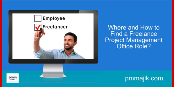 Man ticking freelance role