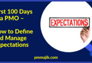 Define and manage PMO expectations