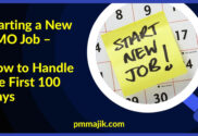 Starting new PMO role