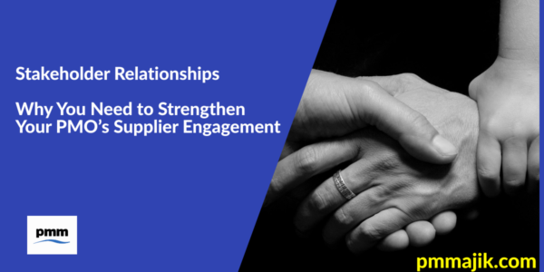 PMO Supplier Engagement